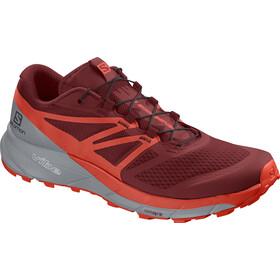 Salomon M's Sense Ride 2 Shoes Red Dahlia-Cherry Tomato-Quarry